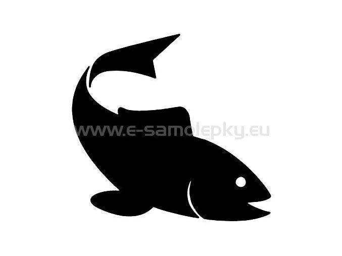 Samolepka - Ryba 04