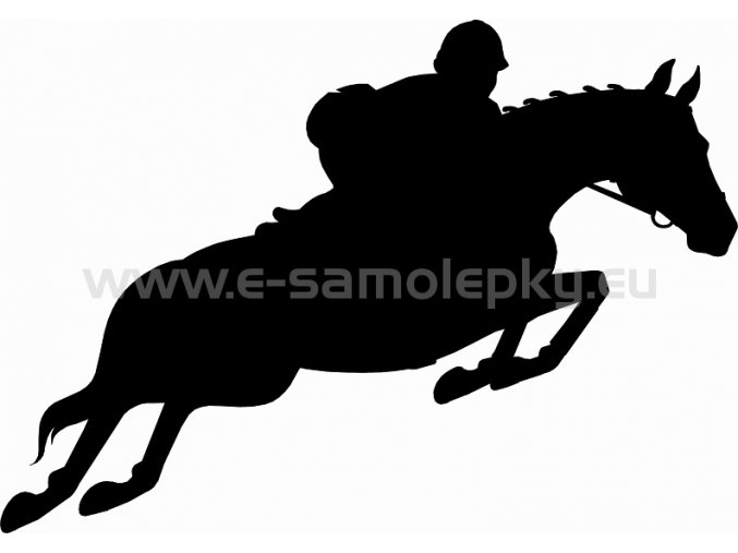 Samolepka - Kůň 04