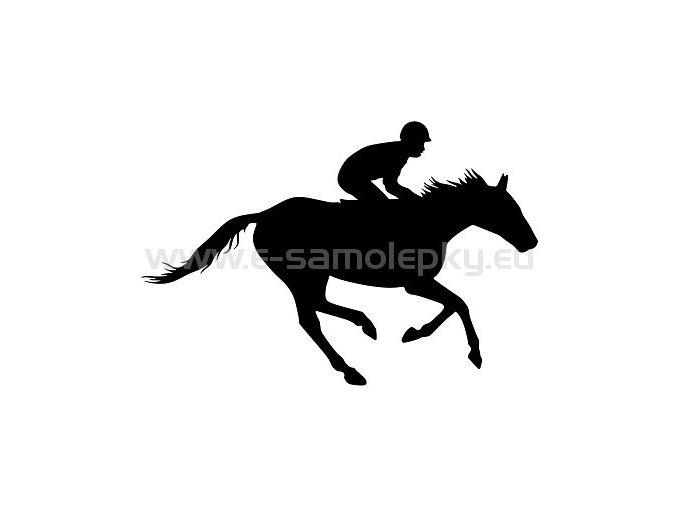 Samolepka - Kůň 14