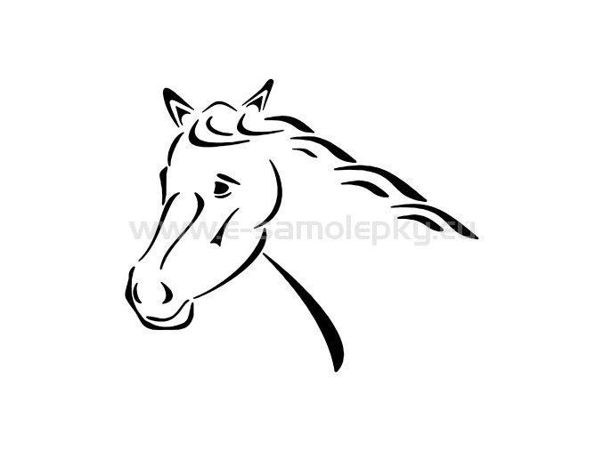 Samolepka - Kůň 17