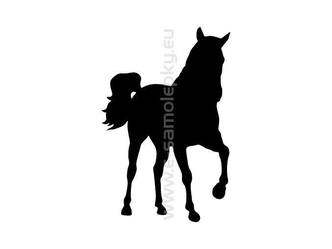 Samolepka - Kůň 21