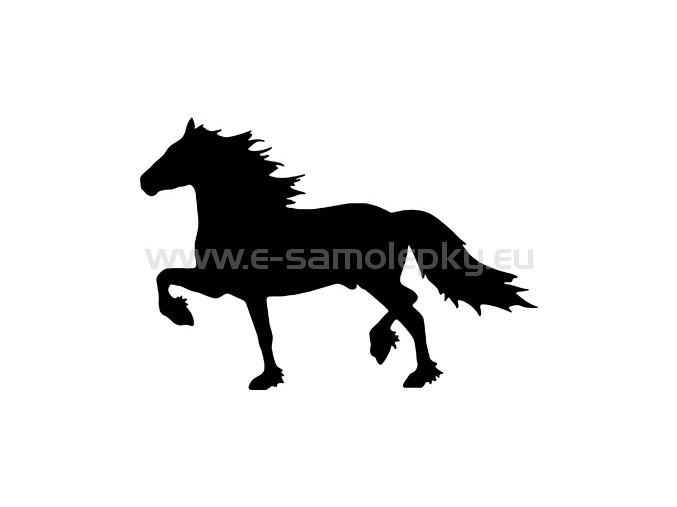 Samolepka - Kůň 25
