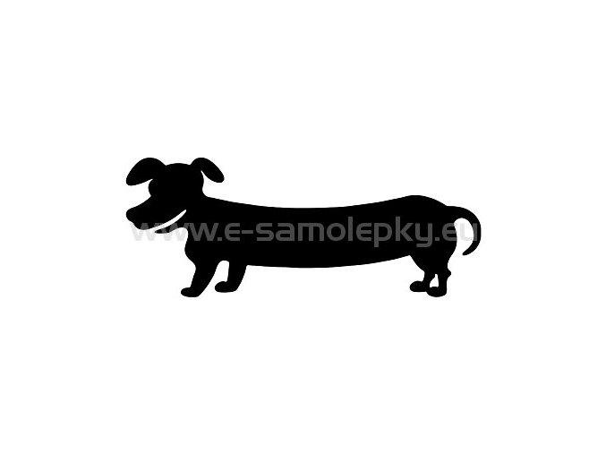 Samolepka - Pes 08