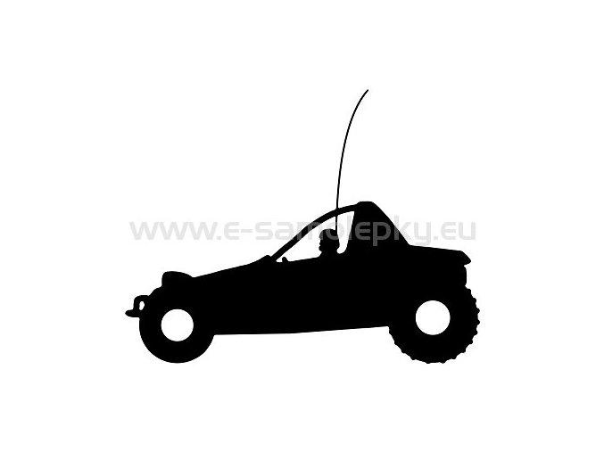 Samolepka - RC Buggy