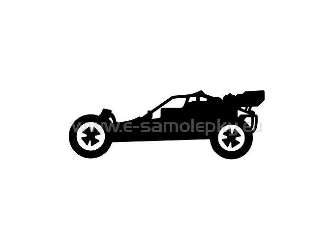Samolepka - RC Buggy 02
