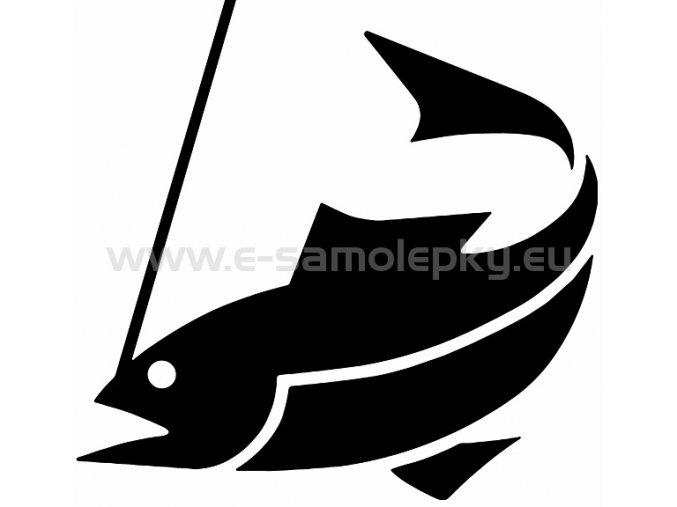 Samolepka - Rybolov 02