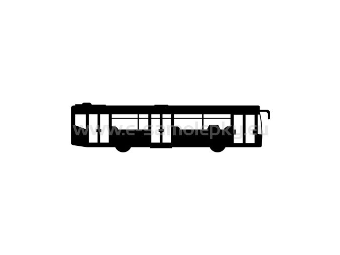 Samolepka - Autobus 02