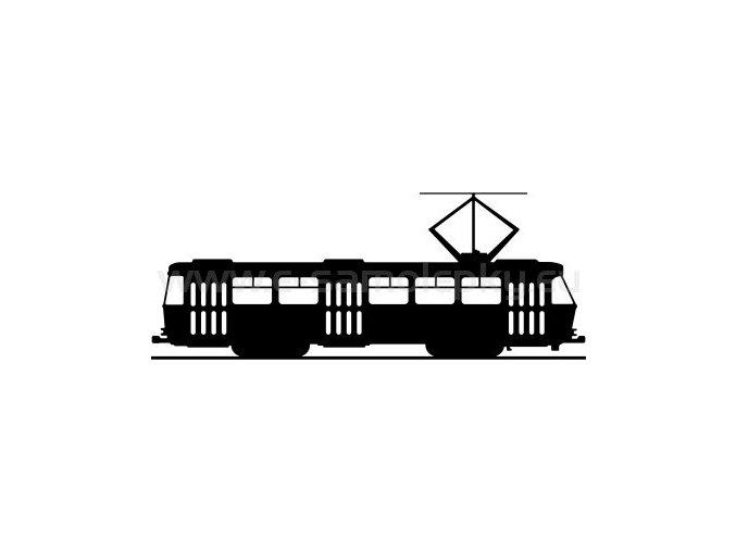 Samolepka - Tramvaj T3