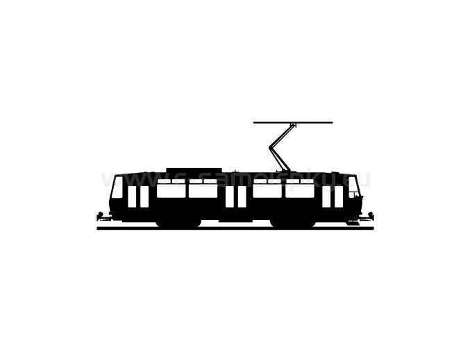 Samolepka - Tramvaj T6a5