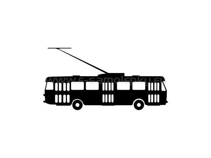 Samolepka - Trolejbus