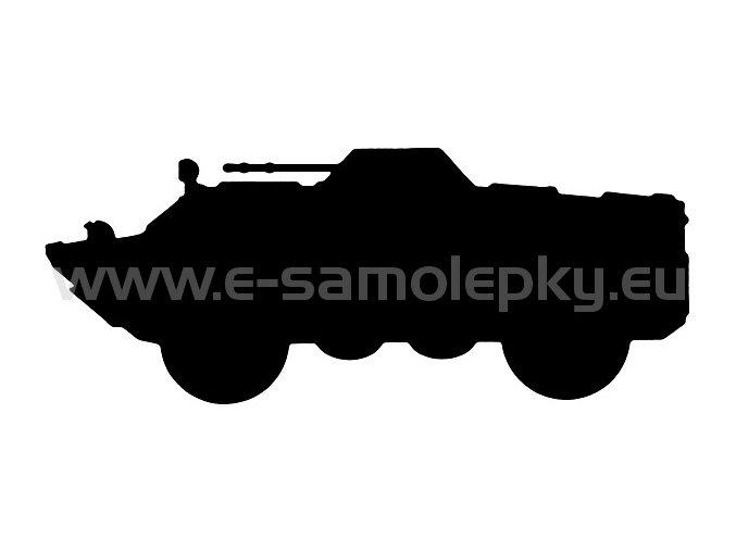 Samolepka - BRDM 2