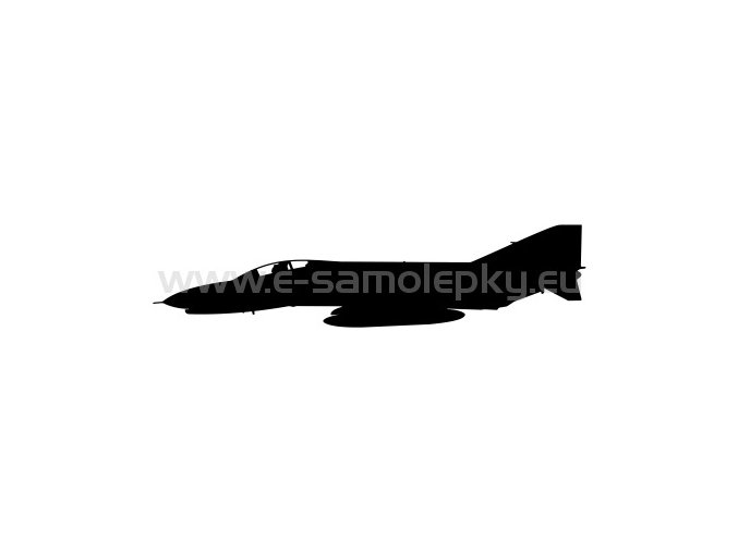 Samolepka - Letadlo F-4 Phantom