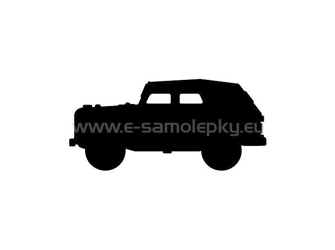 Samolepka - GAZ 69 02