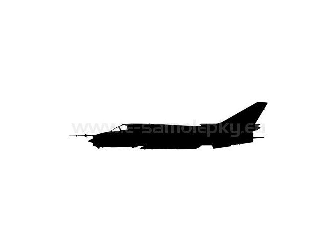 Samolepka - Letadlo SU 17