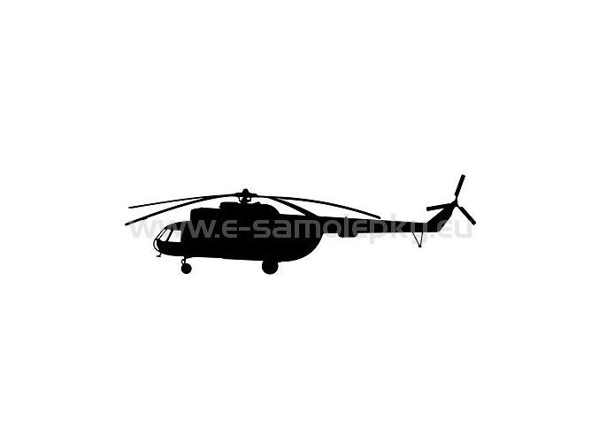 Samolepka - Vrtulník Mi 8