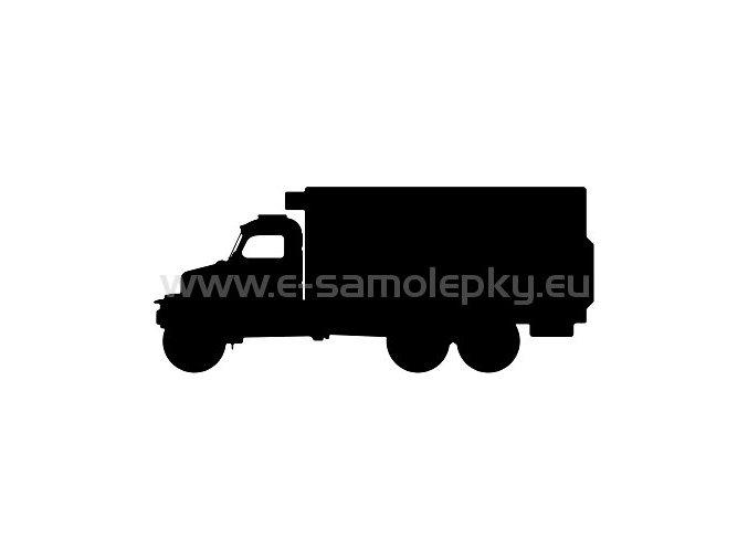 Samolepka - Praga V3S skříň