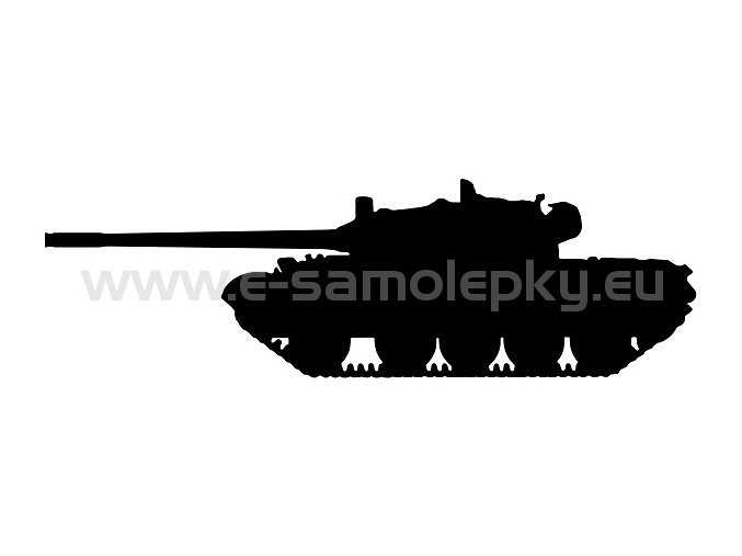 Samolepka - Tank 02