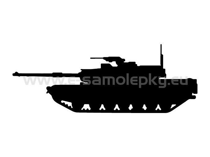 Samolepka - Tank 06