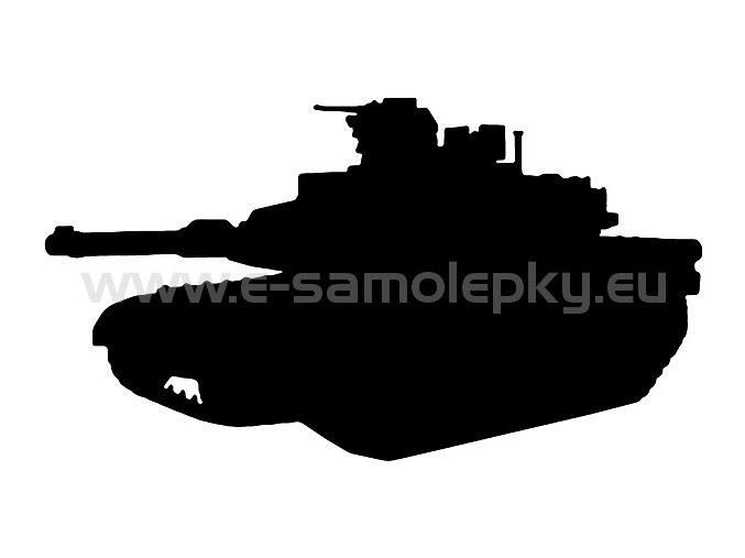 Samolepka - Tank 07