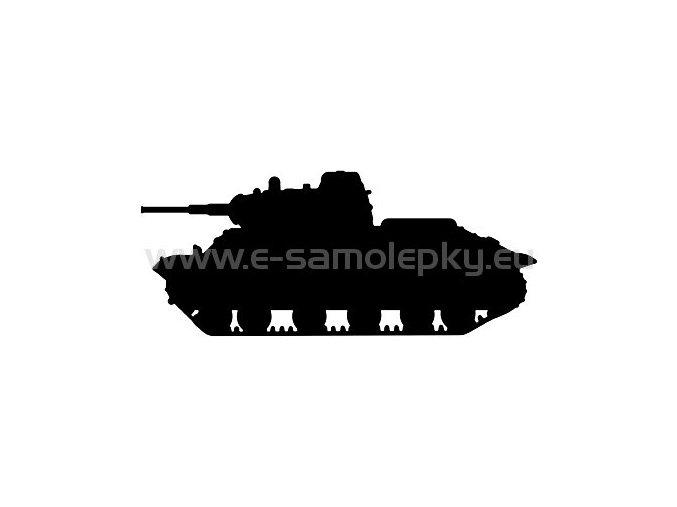 Samolepka - Tank 09