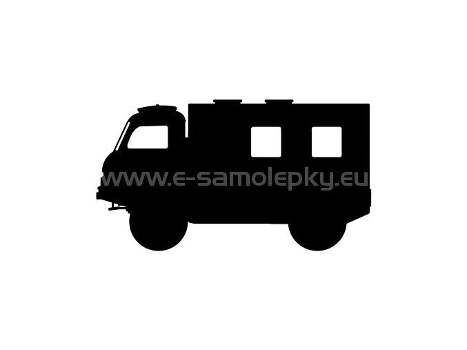 Samolepka - Tatra 805 skříň