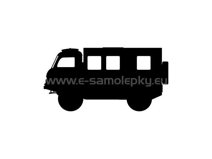Samolepka - Tatra 805 skříň 02