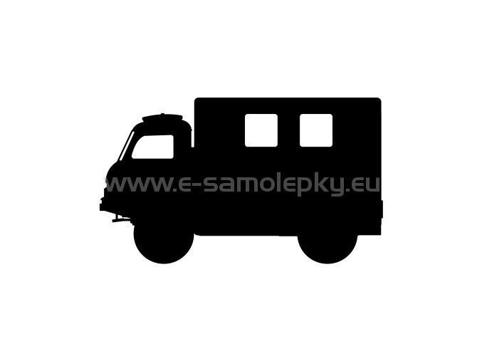 Samolepka - Tatra 805 skříň vysoká