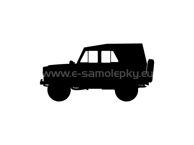 Samolepka - UAZ 469