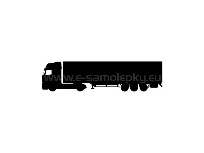 Samolepka - Kamion