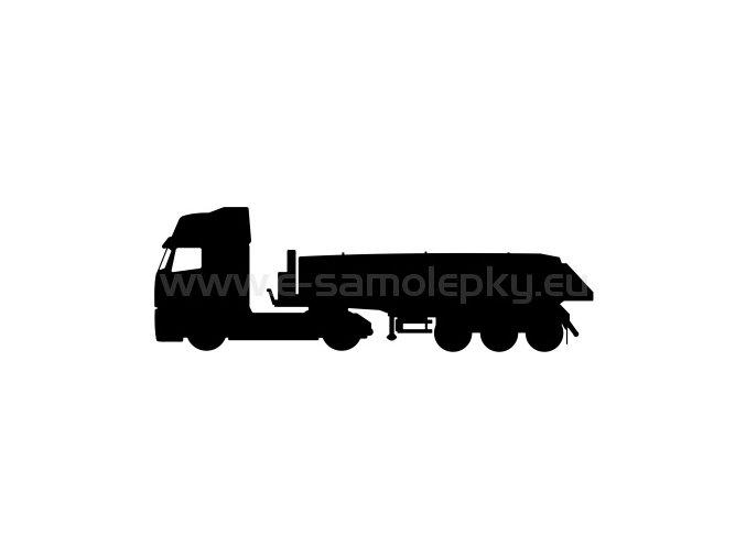 Samolepka - Kamion 02