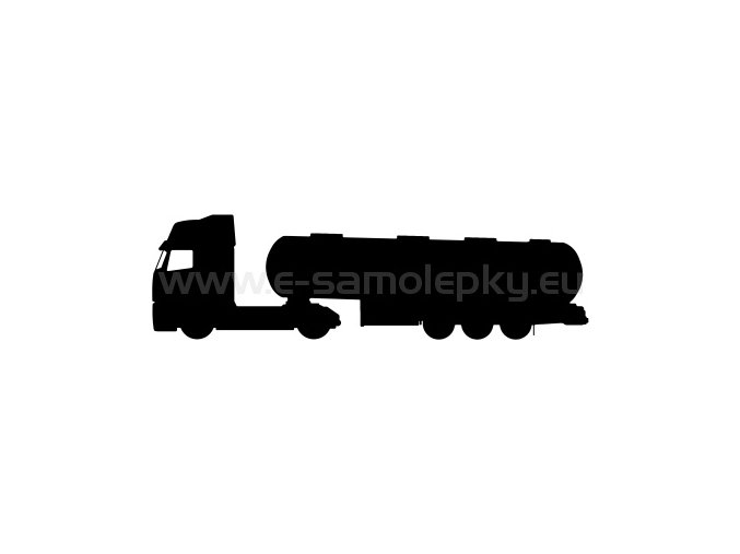 Samolepka - Kamion 03