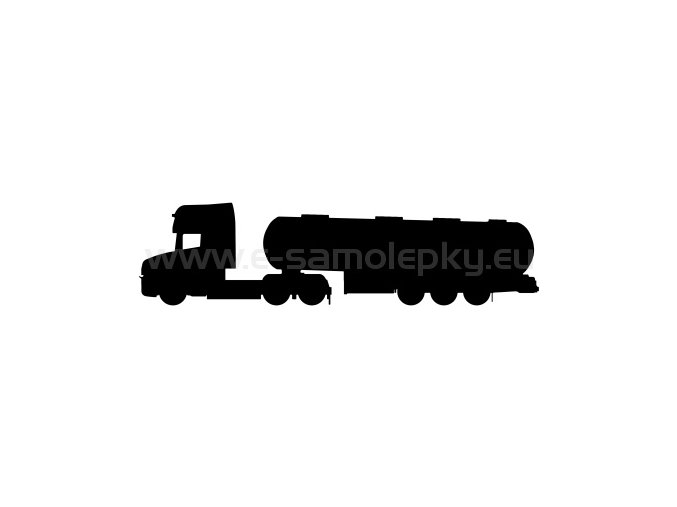 Samolepka - Kamion 06