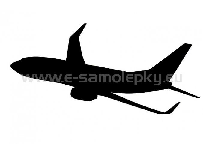 Samolepka - Letadlo 06