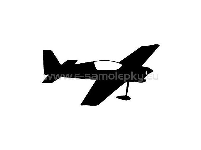 Samolepka - Letadlo 08