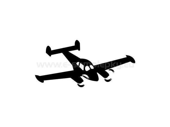 Samolepka - Letadlo 10
