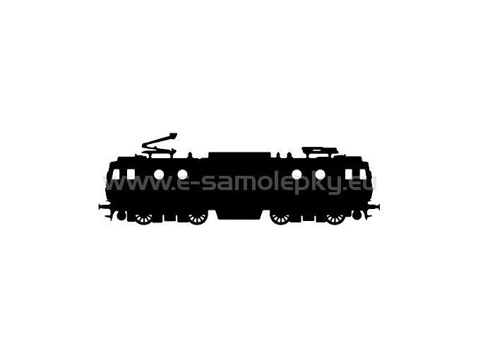 Samolepka - Lokomotiva 04
