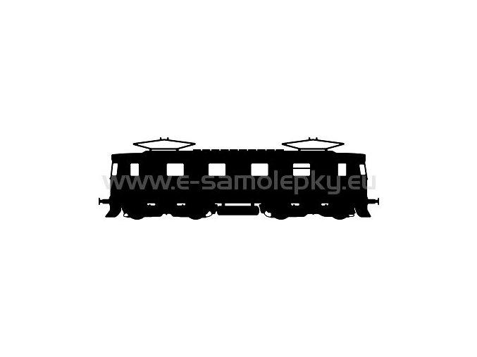 Samolepka - Lokomotiva 08