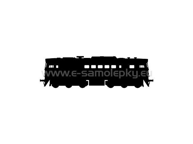 Samolepka - Lokomotiva 10