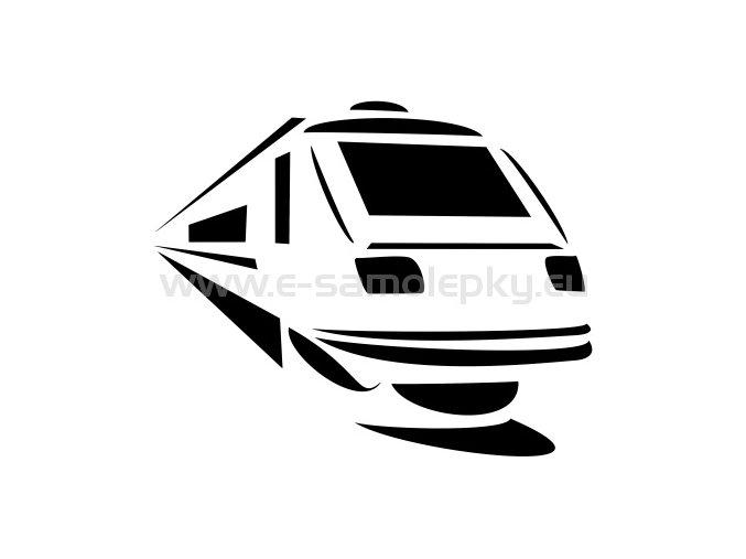 Samolepka - Lokomotiva 12