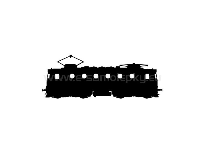 Samolepka - Lokomotiva 13