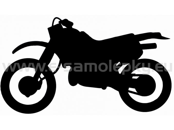 Samolepka - Motocyklista 03