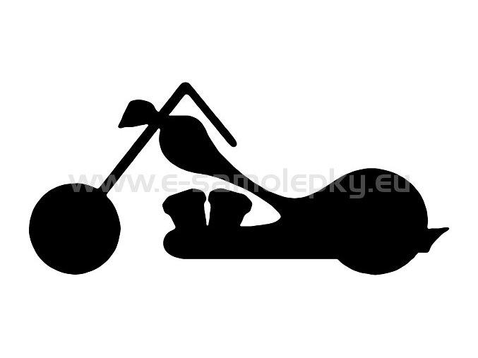 Samolepka - Motocyklista 13
