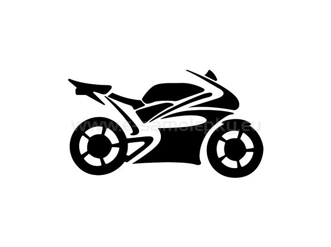 Samolepka - Motocyklista 18