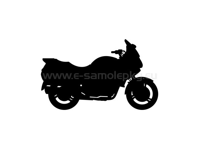 Samolepka - Motocyklista 20