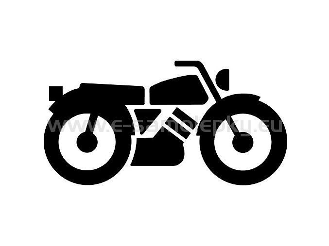 Samolepka - Motocyklista 12