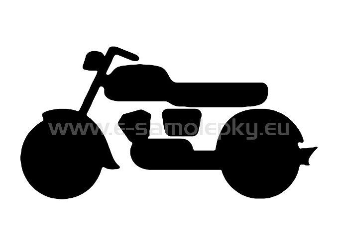 Samolepka - Motocyklista 14