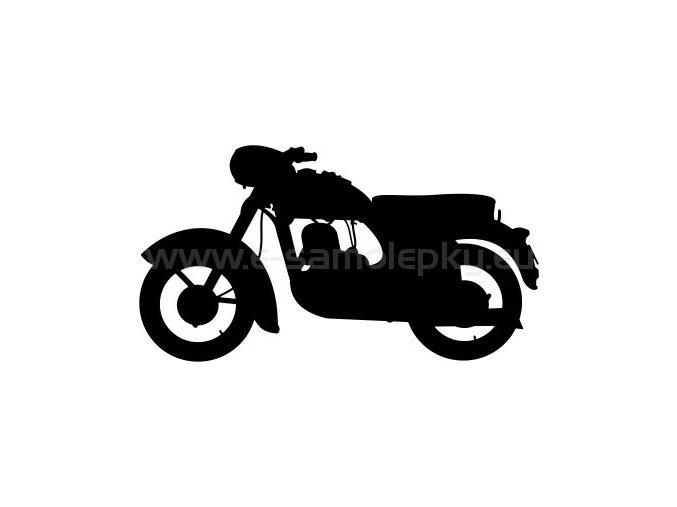 Samolepka - Jawa 250 Kývačka