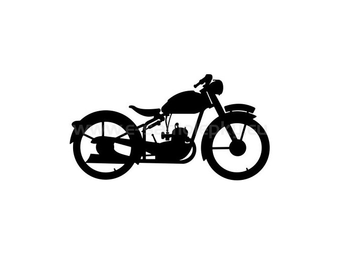 Samolepka - Jawa 90 Manet