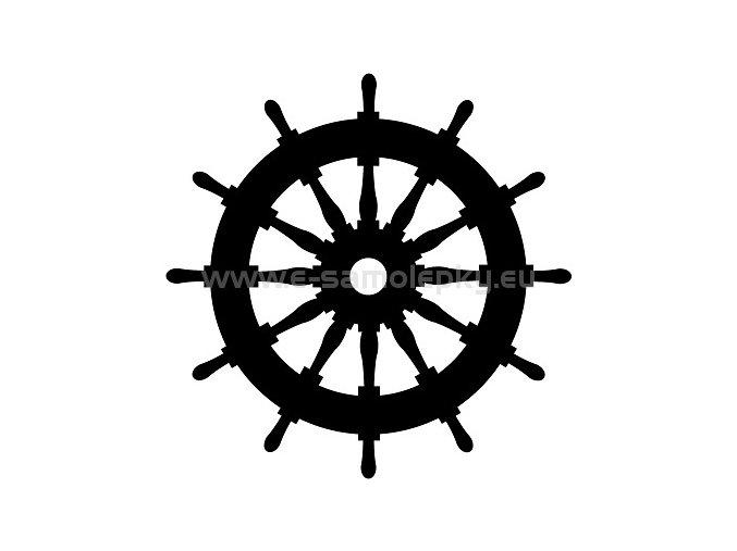 Samolepka - Kormidelní kolo