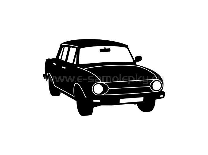 Samolepka - Škoda 100